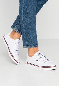 Tommy Jeans - HAZEL  - Matalavartiset tennarit - white