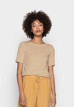 Marc O'Polo - SHORT SLEEVE BOAT NECK - T-Shirt print - multi/sweet corn