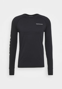 Peak Performance - SPIRIT CREW - Langarmshirt - black