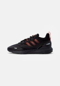adidas Originals - ZX 2K BOOST 2.0 - Sneaker low - core black/solar red/carbon