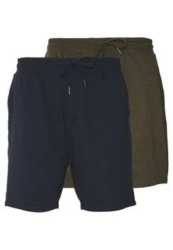 Burton Menswear London - 2 PACK - Jogginghose - navy/khaki
