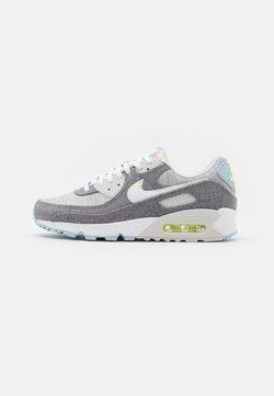 Nike Sportswear - AIR MAX 90 NRG UNISEX - Sneakersy niskie - vast grey/white/barely volt/celestine blue/bright crimson/black
