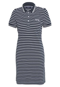 Superdry - POLO DRESS - Vestido informal - navy stripe