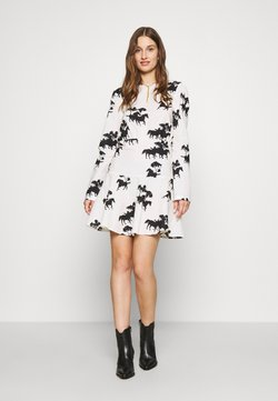 Never Fully Dressed - CREAM FORREST MINI DRESS - Korte jurk - cream