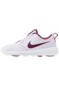 Nike Golf - ROSHE - Golfkengät - barely grape/villain red/white