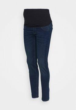 Lindex - MOM DOLLY - Slim fit jeans - denim