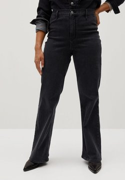 Violeta by Mango - ALBERTA - Flared Jeans - denim grau