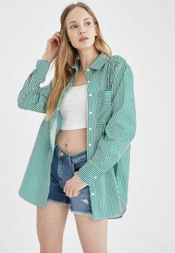 DeFacto - Hemdbluse - turquoise