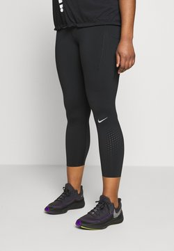 Nike Performance - EPIC PLUS - Tights - black/silver