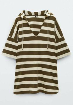Massimo Dutti - T-Shirt print - khaki