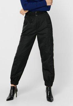 ONLY - Pantaloni cargo - black