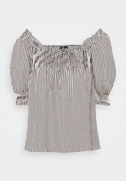 Vero Moda Petite - VMANNABELLE - Bluse - navy blazer/with birch