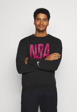 Nike Performance - NBA TEAM  WASH PACK CREWNECK - Collegepaita - black