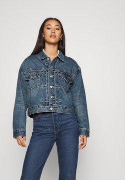 Levi's® - NEW HERITAGE TRUCKER - Veste en jean - blue denim