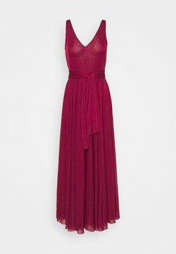 MAX&Co. - PRIMULA - Cocktailkleid/festliches Kleid - burgundy
