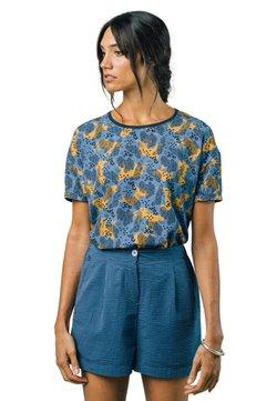 Brava Fabrics - LEO - T-Shirt print - blue
