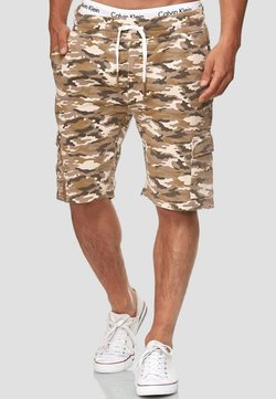INDICODE JEANS - Shorts - sand