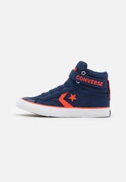 Converse - PRO BLAZE STRAP SUMMER COLOR UNISEX - Sneakers alte - midnight navy/bright poppy/white