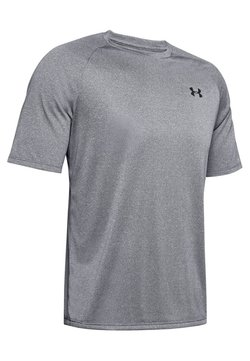 Under Armour - TECH NOVELTY - T-Shirt basic - pitch grey