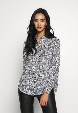 JDY - JDYMONICA PLACKET - Camicia - cloud dancer/black