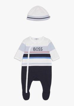 BOSS Kidswear - PULL ON HAT  - Geschenk zur Geburt - bleu