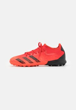 adidas Performance - PREDATOR FREAK .3 L TF - Botas de fútbol multitacos - red/core black/solar red