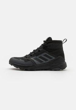 adidas Performance - TERREX TRAILMAKER MID GTX - Hikingschuh - core black/solid grey