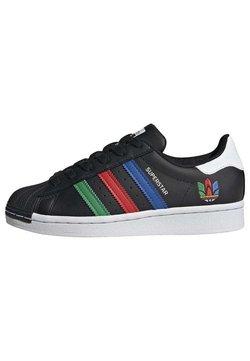 adidas Originals - SUPERSTAR SHOES - Chaussures de skate - black