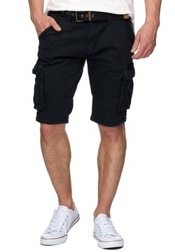 INDICODE JEANS - Shorts - iron check