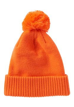 TOM TAILOR DENIM - MIT BOMMEL - Mütze - caramel orange