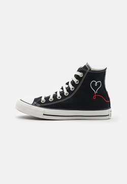 Converse - CHUCK TAYLOR ALL STAR UNISEX - Sneaker high - black/vintage white/egret