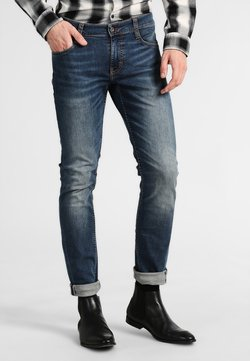 Mustang - OREGON TAPERED - Jeans Slim Fit - stone washed