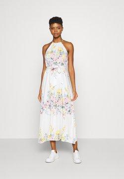 ONLY - ONLALMA LIFE LONG DRESS - Maxikleid - cloud dancer/summer botanic