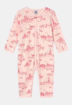 Petit Bateau - DORS BIEN SANS PIEDS - Pyjama - groseiller