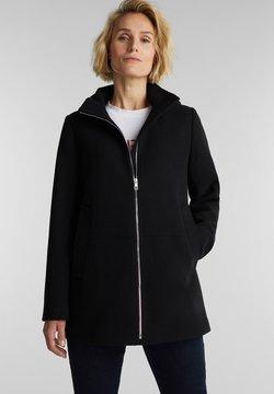 Esprit - Wollmantel/klassischer Mantel - black