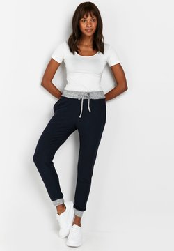 Wallis - CONTRAST SOFT - Jogginghose - blue