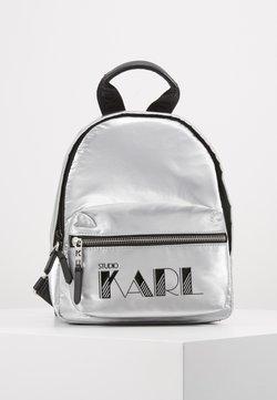 KARL LAGERFELD - BACKPACK - Tagesrucksack - silver