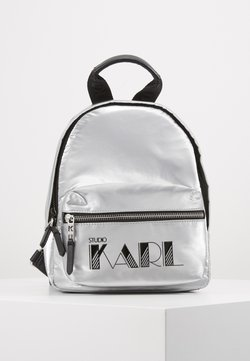 KARL LAGERFELD - BACKPACK - Reppu - silver