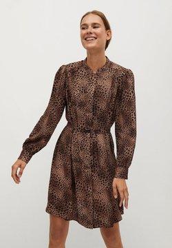 Mango - BONAIRE - Korte jurk - braun
