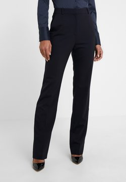 HUGO - THE REGULAR TROUSERS - Pantalones - navy