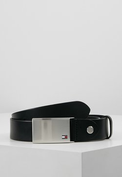 Tommy Hilfiger - PLAQUE BELT - Vyö - black