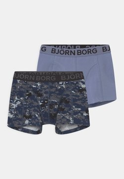 Björn Borg - DIGITAL WOODLAND SAMMY 2 PACK - Shorty - mood indigo
