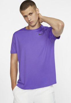 Nike Performance - DRY - T-Shirt print - psychic purple/black