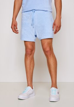 Tommy Jeans - TOWELING  - Shorts - light powdery blue