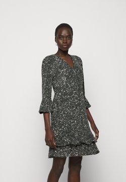 MICHAEL Michael Kors - RUFFLE MINI  - Cocktailkleid/festliches Kleid - silver-coloured