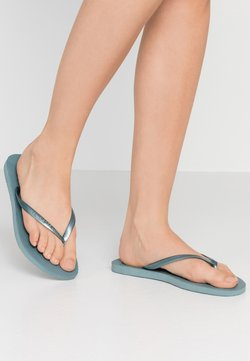 Havaianas - SLIM FIT - Teenslippers - silverblue