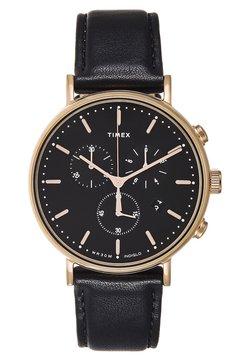 Timex - FAIRFIELD CHRONOGRAPH SUPERNOVA 41 mm - Montre à aiguilles - black/gold-coloured