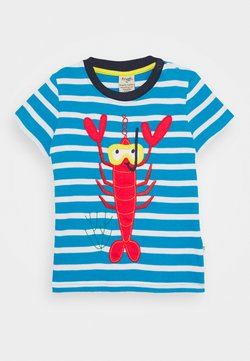 Frugi - SID LOBSTER - T-shirt imprimé - motosu blue