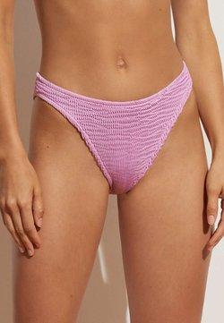 OYSHO - CRINKLED  - Bikiniunderdel - purple