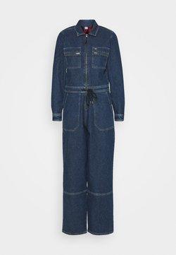 Tommy Jeans - ZIP BOILER SUIT - Combinaison - blue